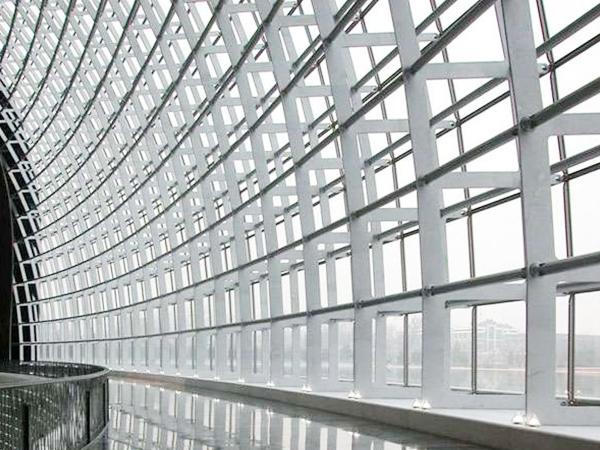 机场明框幕墙玻璃